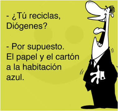 chiste diogenes